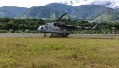 Mi-17 helicopter makes emergency landing in Sikkim