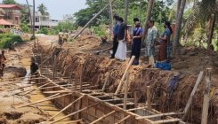 MLA inspects 'rajakaluve' work