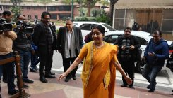 Miss you with every breath Ma: Sushma Swaraj's daughter