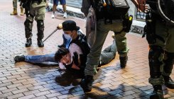 Hong Kong media: Police arrest more than 200 protesters