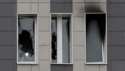 Five die in 'nightmare' fire at Russian virus hospital
