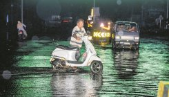 Heavy rain in Kodagu and Sringeri on Wednesday
