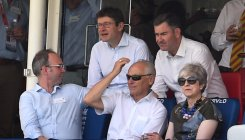 May opts for cricket over Johnson's maiden speech