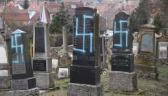 80 Jewish graves desecrated in Denmark