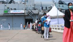 Kochi: Naval ship arrives with 698 repatriated Indians