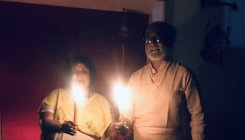 COVID-19: Rajinikanth lights a candle at 9 pm