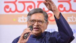 Democracy run by money power: S M Krishna
