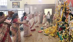 Green Durga Puja celebrations in city