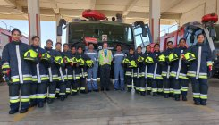KIA first airport to induct women firefighters