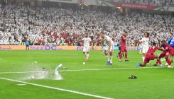 Qatar defy fans' rage to make final
