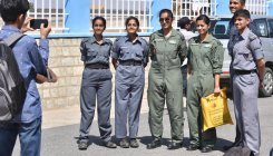 Women flying higher at Aero India this year