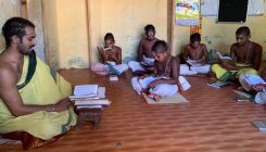 Sanskrit school in Melukote crowdfunds for survival