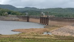 Inflow of water to Harangi reservoir increases