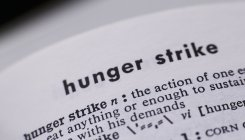 The tale of a hunger strike