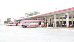 KSRTC resumes bus service; poor response in CB'pur