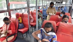 COVID-19 curbs play spoilsport for BMTC daily ridership