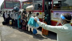 Cong arranges buses for Kerala students stuck in Bhopal