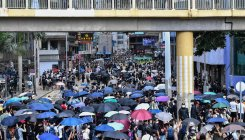 Thousands in Hong Kong protest China security law plan