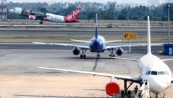 AirAsia Hyderabad flight develops technical glitch