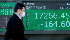 Coronavirus: Tokyo stocks close sharply higher