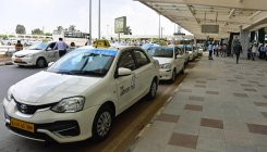 Very few from green zone cities, taxis return empty