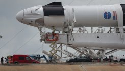 SpaceX readies for fly with NASA astronauts aboard