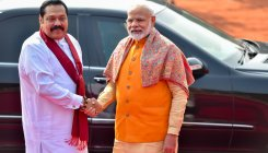 PM Modi speaks with Sri Lanka PM Mahinda Rajapaksa