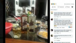 Faux pas: Whiskey bottles' image posted on MHA FB page