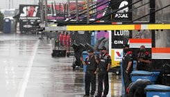 Rain forces postponement of NASCAR Cup Series race