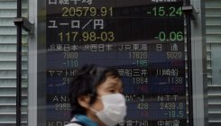 Nikkei dented, but scores best month since 2015