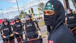 Troops deployed as angry US anti-racism protests spread