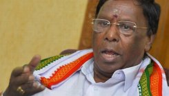 Quiet birthday for Puducherry CM as he turns 73