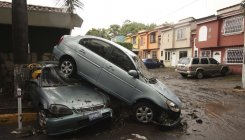 Deadly Tropical Storm Amanda hits El Salvador