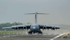 Indian Air Force building emergency airstrip in Kashmir