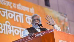 Guj BJP to hold virtual rallies to mark Modi govt anniv