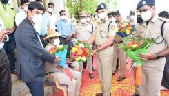 Covid-19: IGP fetes head constable for speedy recovery