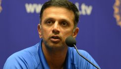 I wouldn't survive, look at the strike rates: Dravid