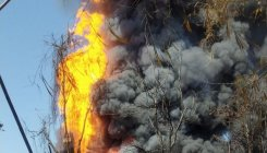 Massive fire breaks out at Oil India's Assam gas well