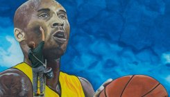 Kobe Bryant honoured in Bosnia with giant mural