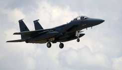 UK searches for US F-15 pilot missing in North Sea