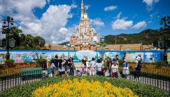 Disneyland reopens after five-month COVID-19 break