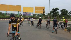 Bengaluru airport open to cyclists on Sundays