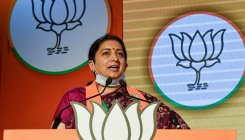 Sonia has left no stone unturned to loot India: Irani