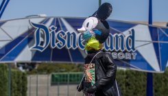 Some Disneyland workers protest reopening plans