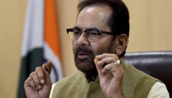 Cong unable to digest strong govt at Centre: Naqvi