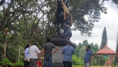 Sir Mark Cubbon statue moved into park premises