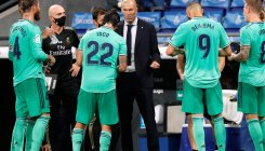 Zidane warns Real Madrid 'we have won nothing yet'