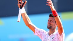 Djokovic gives 40k euros to Serbian town hit by Covid