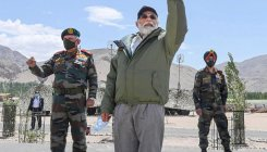 From the newsroom: Modi's surprise visit to Ladakh