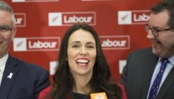 Arden promises jobs, financing in NZ election campaign